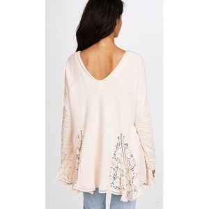 "Free People ""No Frills Pullover"""